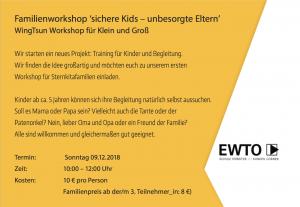Selbstverteidigung Familie Münster Stefanie Bohle EWTO